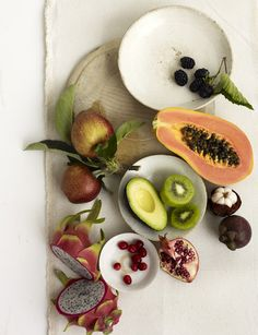 beauty foods, photography by Christopher Baker