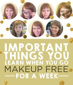 This Is What I Learned Going Makeup-Free For A Week #redheads