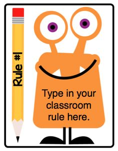 Based on the concept of the Elf on the Shelf your class can pick a Classroom Monster to watch over them and report back to your principal. D...