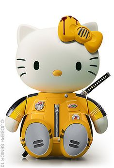 Kill Bill Hello Kitty