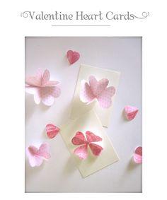 diy heart flowers...