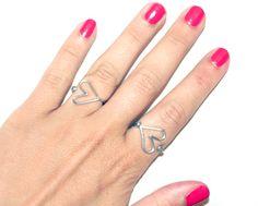 I Spy DIY: [My DIY] Heart Ring