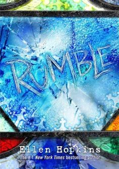 Rumble by Ellen Hopkins - Eighteen-year-old Matt's atheism is tested when, after a horrific accident of his own making that plunges him into a dark, quiet place, he hears a voice that calls everything he has ever disbelieved into question.