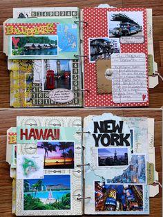 Travel scrapbook... Ya I'm deffinetly doing this one!!!