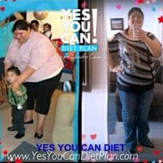 Lupita Lemus has lost 37 pounds in only 8 weeks with the Yes You Can Diet Plan www.YesYouCanDietPlan.com diet plans, la dieta, dieta de