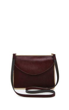 Pony Skin Shoulder Bag by Carven Now Available on Moda Operandi