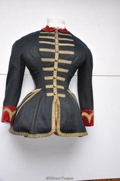 Hunting bodice worn by Empress Eugénie de Montijo, 1853-70, Musée de la Vénerie.