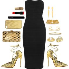 This is a set I created on Polyvore. Polyvore is one of my favorite fashion sites, it lets me express myself. (: