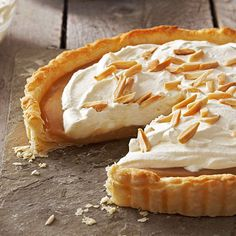 Maple Almond Tart (1) From: Better Homes And Gardens (2) Webpage has a convenient Pin It Button