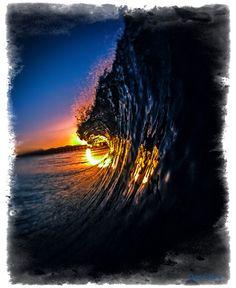 photo inspir, morn fire, ocean lover, david puu