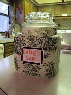 idea, cleaning, kid complain, ice cream, pick, kids, activ, bore jar, jars