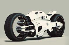 Ducati Draven Concept 3D digital rendering