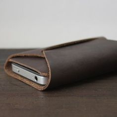 Leather iPhone Case - Fancy