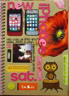 iPhones #scrapbook #journal #smashbook