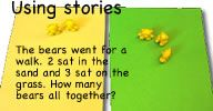 Using a story (circle time)