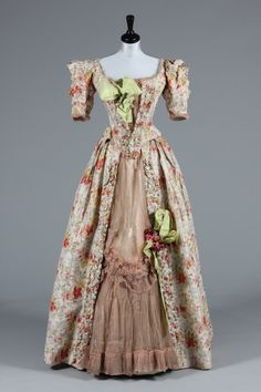 Raudnitz evening dress ca. 1893 From Kerry Taylor Auctions