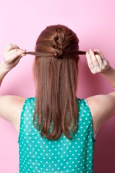 eight easy hairstyles