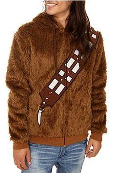 Star Wars Chewbacca Furry Zip Hoodie