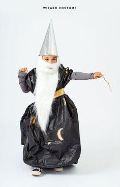 Homemade Wizard Costume