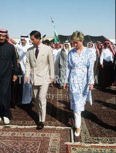 Charles & Diana in Arabia