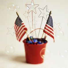 Star Bubble Wands for the 4th