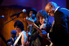 Jeff Beck, Mick Jagger & Buddy Guy at the White House celebration of blues