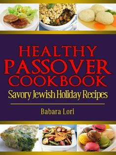 Healthy Passover Cookbook