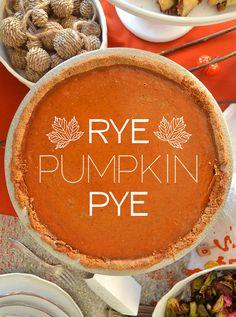 How To Make Rye Pumpkin Pye For #Thanksgivukkah