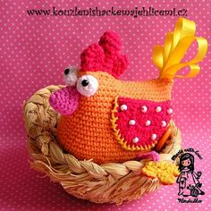 Magic with hook and needles, crochet Easter, crochet decoration, vendula maderska design, crochet for children, crochet patterns, crochet Vendulka