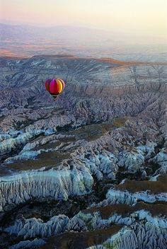 Balloon ride in Cappadocia, Turkey.
