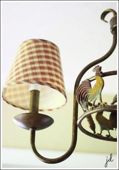 kitchen tables, countri light, rooster kitchen ideas, light fixtures, country french lights