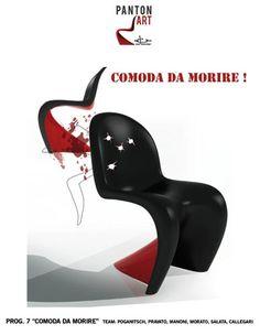 """Scuola Italiana Design - Panton Art... """"Comoda da morire"""""""
