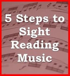 5 Steps to Sight Reading Sheet Music - Sight Reading Exercise 1 - Sheet Music Markings | Learn How to Read Music at the One Minute Music Lesson with Leon Harrell