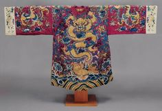 Theater robe  Chinese, Qing dynasty, 1880 to 1899
