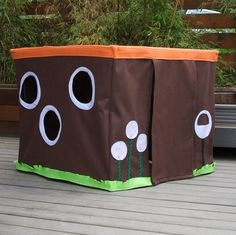tabl hous, stuff, playhouses, playhous idea, play hous, card table playhouse boy, tabl tent, cards, table tents for kids