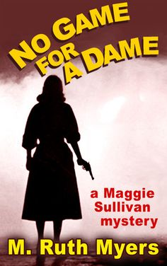No Game for a Dame (Maggie Sullivan mysteries #1) ~ Private eye Maggie Sullivan knows the streets of Depression-era Dayton, Ohio, as well as she knows an emery board. But a routine case makes her a murder suspect and the target of a crime boss who's got friends at City Hall. Before Maggie finds all the answers she needs, she's drugged and left in a ditch, has tea in the kitchen of a local cathouse, and gambles her own life to save two others. (Wonderful series)