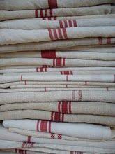 red tea towels