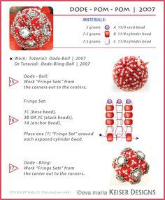 Eva Maria Keiser Designs: Tutorial: Dode - Pom-Pom | 2007