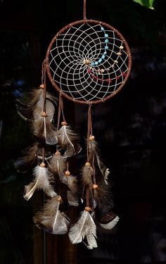Dream Catcher<3 I love the beading patterns!