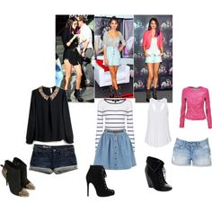 selena gomez style, created by jazmin2096 on Polyvore