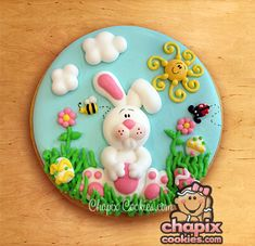 Gorgeous Easter Cookie by ChapixCookies