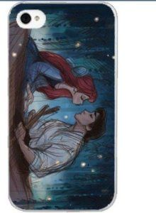 Amazon.com: Disney Princess Ariel Mermaid - Boating with prince Hard Case Back Cover for Iphone 5: Cell Phones & Accessories