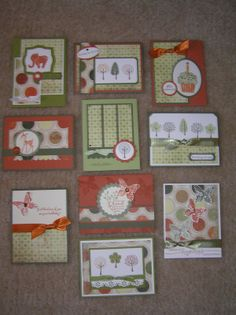 Nice Variety - This is a 1 sheet Wonder christmas cards, wonder card, card sampl, paper, cardson sheet, one sheet cards, bing imag, one sheet wonder, stampin up cards