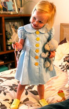 Little Girls Dress  Size 3 by BabyCloth on Etsy, $45.00