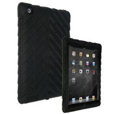 good Gumdrop Cases Drop Tech Series Case for Apple iPad 2, Black-Black, (DS-IPAD2-BLK-BLK-V2)