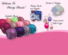 Wonderful source for tatting supplies and books!