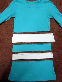 Lengthen a Too Short Shirt