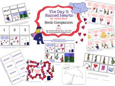 The Queen's Speech: The Day It Rained Hearts Part 2! Book Companion! Pinned by SOS Inc. Resources. Follow all our boards at pinterest.com/sostherapy/ for therapy resources.