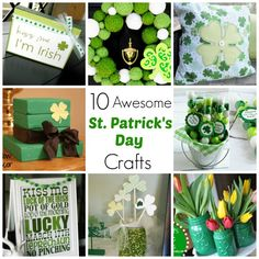 10 Awesome St. Patrick's Day Crafts