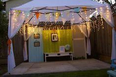 What a pretty tent